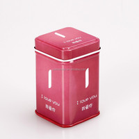 tin box round packaging tin box thin metal tin box HQTB00032
