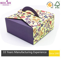 Good Quality Customized Packaging Paper Cake Box