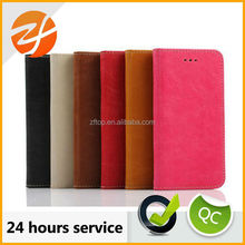 wholesale insert card cell phone leather case for iphone 6 plus,phone accessory
