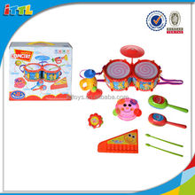 Learning Music Playing Drum Set For Small Baby Safe Material Baby Toy Drum