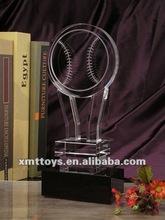 2012 crystal souvenir for baseball match