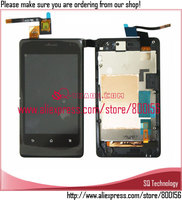 For Sony For Xperia Go ST27 LCD Touch Digitizer Screen With Frame Assembly