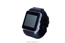 wearable electronic smartwatch bluetooth smart sport watch with SOS Alarm/ Quick Dial Buttons