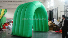 2015 green cheap inflatable arch for sale