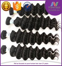 indian 100% raw remy unprocessed human hair