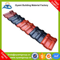 China Manufacturer composite asa resin roofing for construction