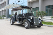 4 seats luxury electric sightseeing classic car