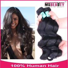 5A Brazilian Loose Wave Hair Extension remy human hair weft 8-30inch100%virgin brazilian Human Hair Weave Wholesale Price
