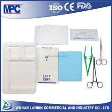 suture tray instruments used in surgery