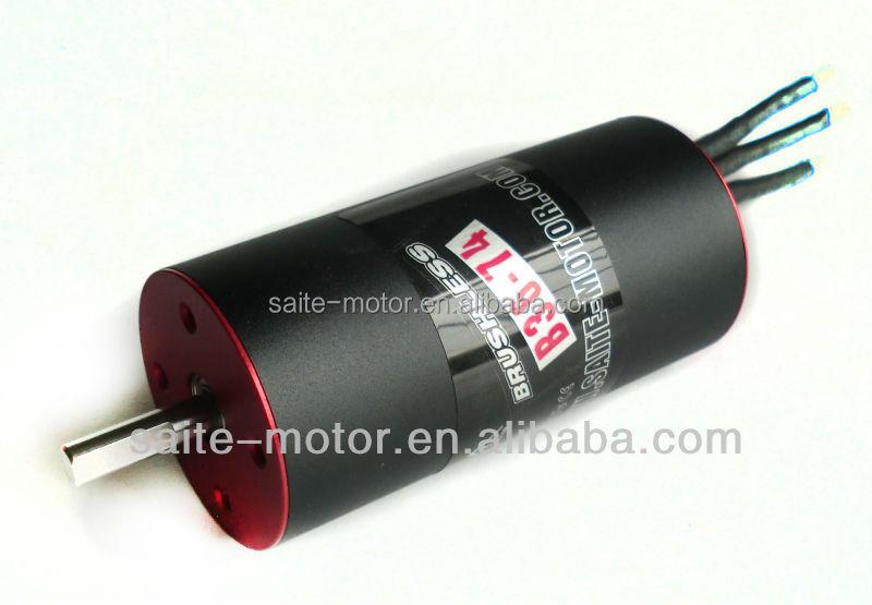 Electric Brushless Rc Car Motor 3674 Kv2770 2 Pole 1 10