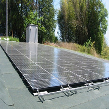 NEW ! Aluminum PV Solar Panel Mounting System / solar brackets / home solar system