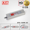 (LPV-150-5)SFS-150-5 CE 150w 5v 30a constant voltage led driver IP67 waterproof switching neon power supply