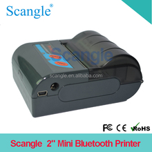 58mm mini thermal wireless / bluetooth printer support iphone / ipad