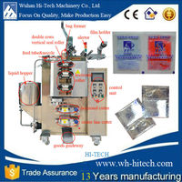 aseptic pouch juice /milk filling packing machine