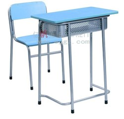 High School Furniture Classroom Desk and Chair, Hot Sale Cheap Simple Desk