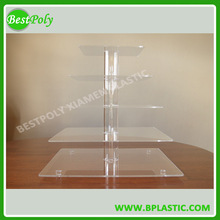 High quality acrylic cupcake stand for for party