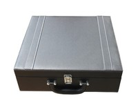 Alibaba China Portable Leather Wine Carrier Pu Wine Case