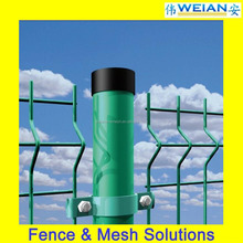 Powder Coated Nylofor 3D Welded Mesh Panel Fence/Fence Panel (WEIAN,ISO9001)