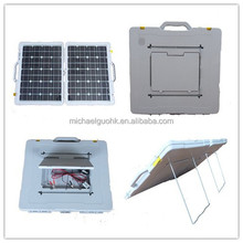 New 140W Folding Solar Panel Kit MPPT Controller