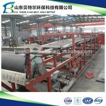 China factory Sludge dewatering machine/Vacuum belt filter press