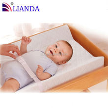 Soft Cotton cover and Waterproof covered changing pads folding toddler beds, baby play mattress, folding toddler beds