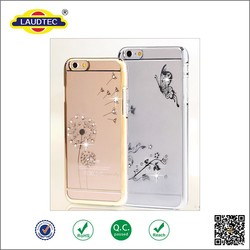 Beautiful Shiny Bling Phone Case PC TPU Mobile Phone Case Back Cover Case For iPhone 6 / 6 Plus