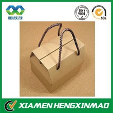 Customized foldable corrugated carton box ,kraft cardboard box made in Xiamen