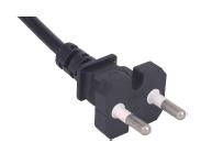 Korea plug,electrical cord with cord lock