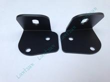 3'' led work light waterproof IP68 18w led flush mount pods jeep A bracket-02