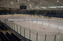 arena board with good impact resistance in ice rink