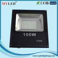 CE Approval CRI>70 Aluminum Alloy Case 100W Waterproof IP65 LED Flood Light