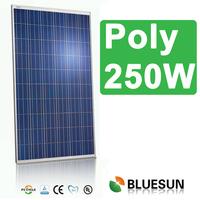 BLUESUN factory supply 60cells best quality polycrystalline 250w solar panel