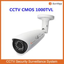 SunView waterproof high image quality Megapixel 1000TVL IR Sony cheap waterproof camera