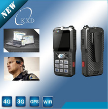 China Factory direct 3G/WIFI/GPS H.264 .AVI/MPEG4 military police video camera