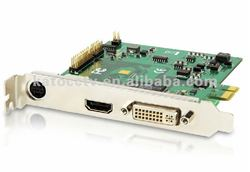 Universal use capture card of different video cnference camera