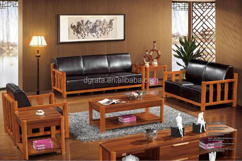 24.jpg & 2014 New Design Living Room Leather Sofa Set Was Made From Solid ...