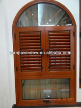 wanjia superb aluminum round windows that open