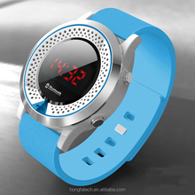 Good news! HongFa smart bluetooth watch sport watches colorful bracelet for Android and ios smart phone (BW801)
