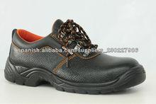 cómodo negro resistente a productos químicos zapatos de seguridad para el trabajo