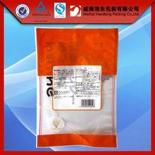 hot sale custom 3 side seal thin bags packaging
