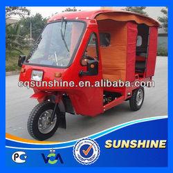 Economic Amazing front loading cargo tricycle