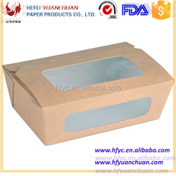 Food Grade Custom Printed Paper disposable japanese food box containers