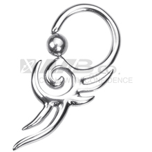 Gothic Punk Style Attractive Design of Nose Rings
