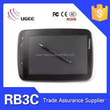 """Ugee Rainbow 3C 9x6 inches 5080LPI 2048 levels 9"""" screen size painting tablet"""