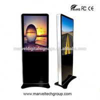 42 inch indoor stand alone network multimedia LCD touch screen advertising equipment