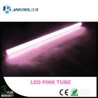 Special pink color tube for fresh/meat t8 pink led tube lights for supermarket