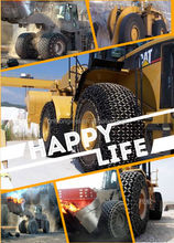 tyre/tire chain for 940 Model Wheel Loader