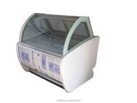B8 vetro refrigerazione vetrina for gelato Store