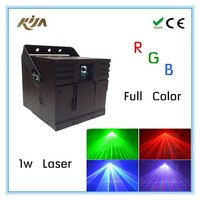 Disco Light with USB Card 1W RGB Animation Full Color Stage laser dj