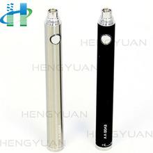 900mah/1300mah variable volt e cigarette battery, vv ecig battery,evod twist battery